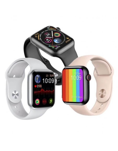 FM18 Smart Watch Phone Call Watch Phone 2021 Heartrate Fitness Tracker Watch Silicon Strap  - 1