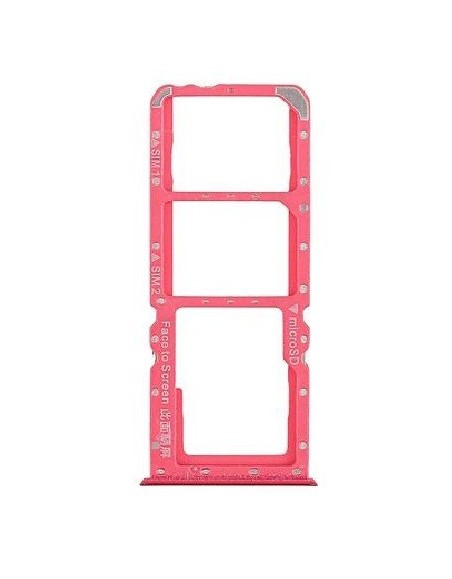 Oppo A7 SIM Card Tray - Red Oppo - 1