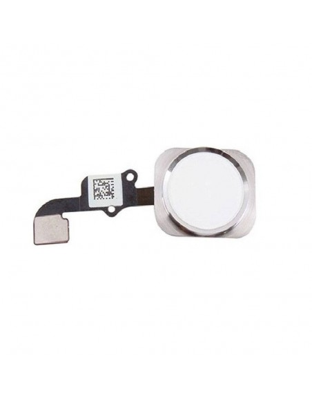 iPhone 6/6 Plus Home Button Assembly - Silver Apple - 1