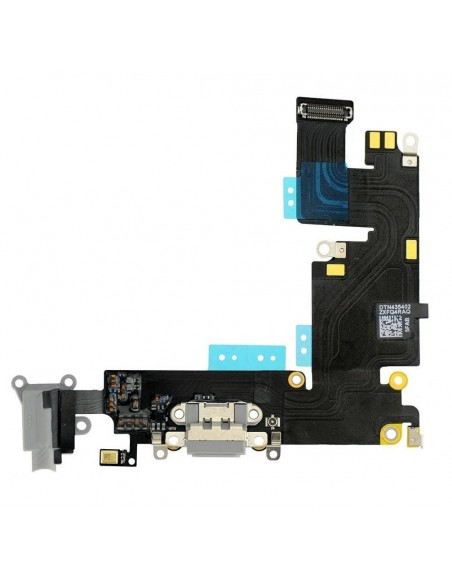iPhone 6 Plus Headphone Jack with Charging Connector Flex Cable - Dark Gray Apple - 1