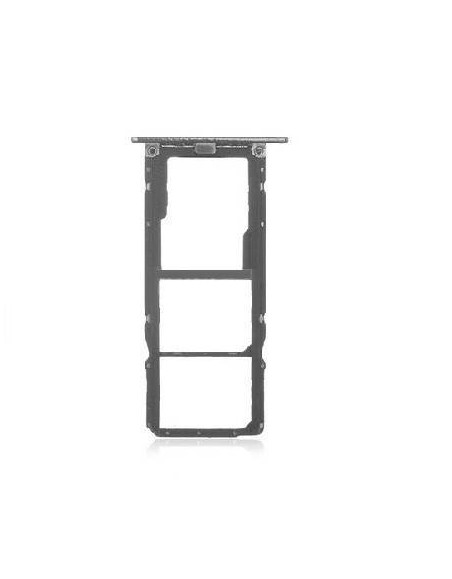 Replacement for HTC Desire 12 SIM + SD Card Tray - Cool Black