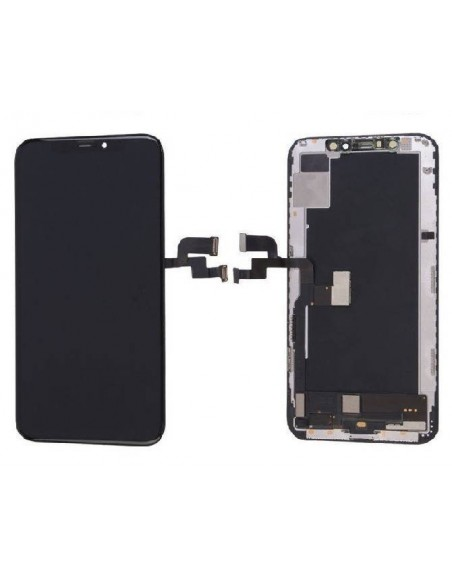 iPhone XS LCD OLED Screen and Digitizer Assembly - Black  - 1