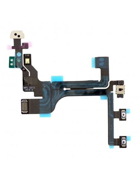 iPhone 5C Power ON/OFF Control Flex Cable Apple - 1