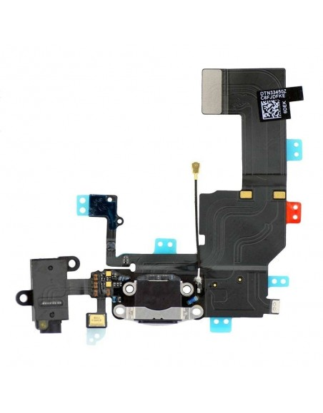 iPhone 5C Dock Connector Flex Cable - Black Apple - 1