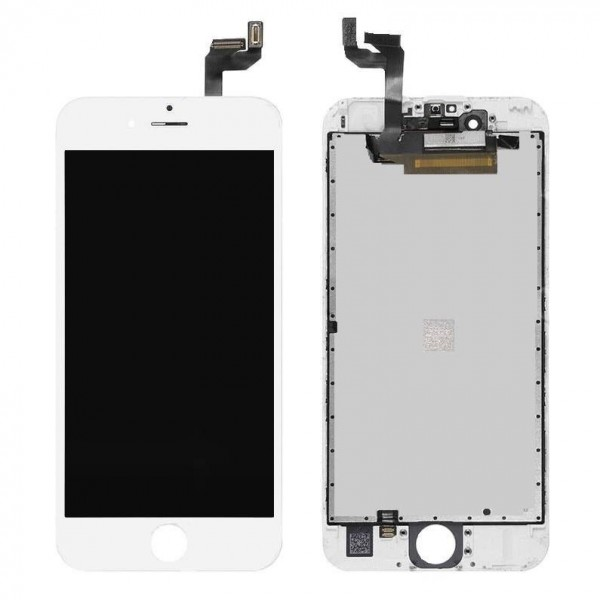 iPhone 6S LCD Screen and Digitizer Assembly - White Apple - 1