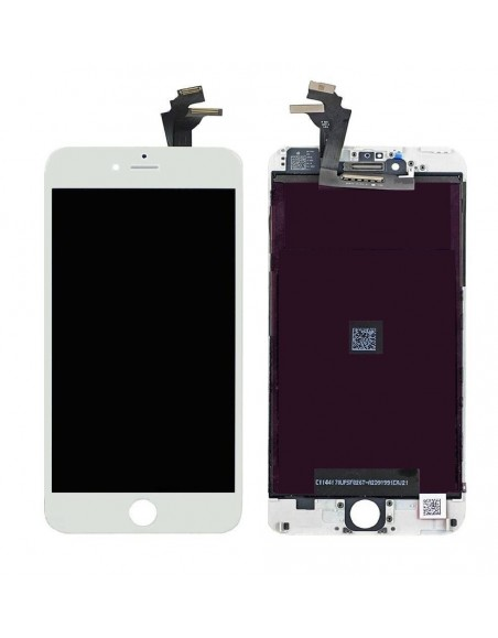 iPhone 6 Plus LCD with Digitizer Assembly - White Apple - 1