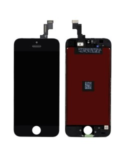 iPhone 5S/SE LCD Screen and Digitizer Assembly - Black Apple - 1