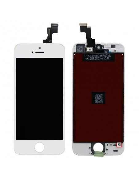 iPhone 5S/SE LCD Screen and Digitizer Assembly - White  - 1
