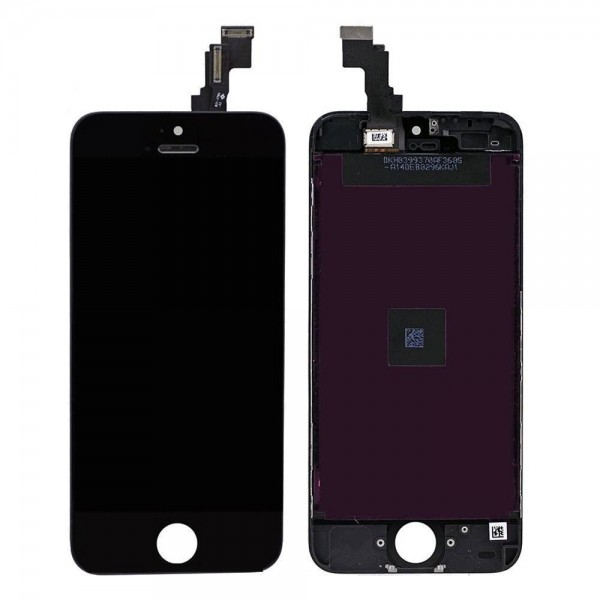 iPhone 5C LCD with Digitizer Assembly - Black  - 1