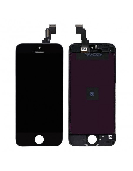 iPhone 5C LCD with Digitizer Assembly - Black Apple - 1