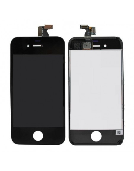 iPhone 4 LCD with Digitizer Assembly - Black Apple - 1