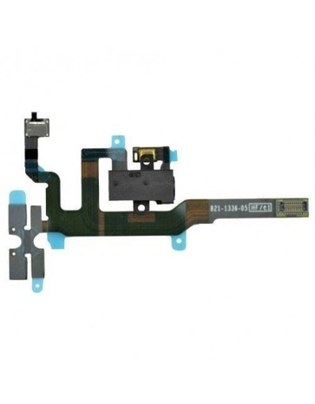iPhone 4S Headphone Audio Jack Flex Cable - Black Apple - 1