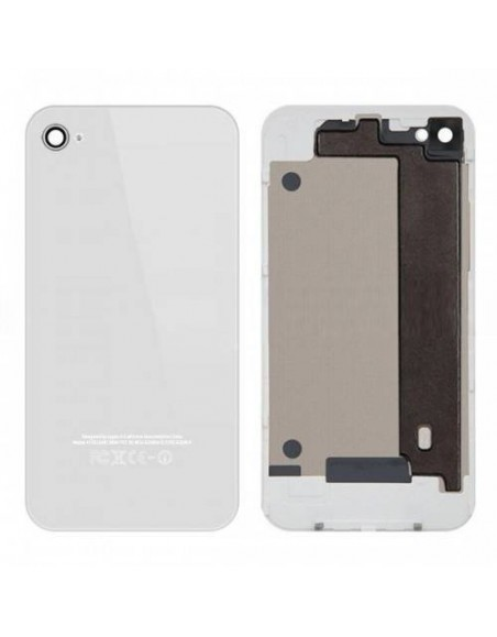 iPhone 4 Back Cover with Frame - White - OEM Apple - 1