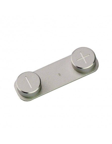 iPhone 5 Volume Button - Silver Apple - 1
