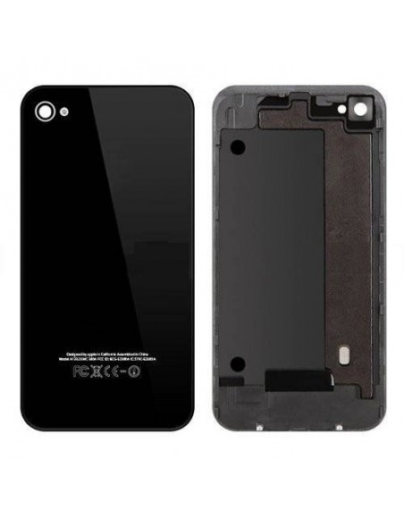 iPhone 4 Back Cover with Frame - Black - OEM Apple - 1