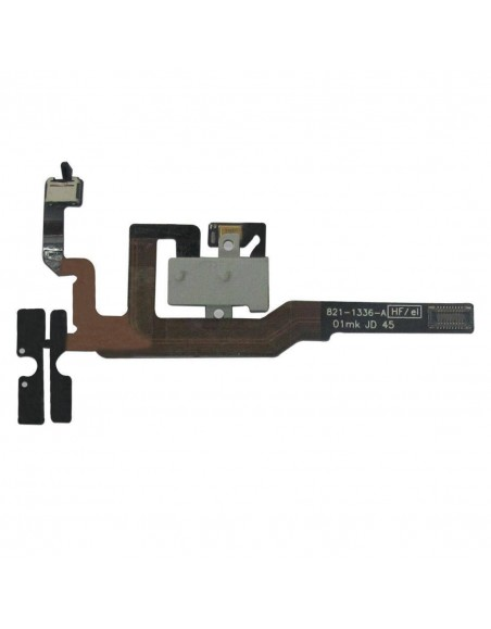 iPhone 4S Headphone Audio Jack Flex Cable - White Apple - 1