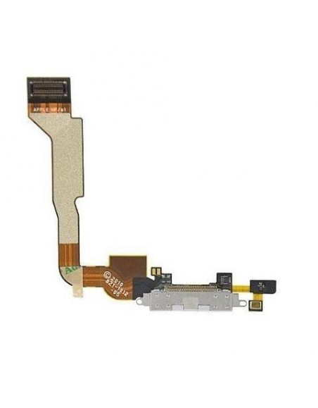 iPhone 4 Charger Connector Flex Cable - White Apple - 1