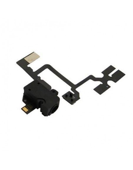 iPhone 4 Headphone Jack Flex Cable - Black Apple - 1